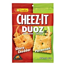 Cheez-it - Duoz Sharp Cheddar And Parmesan 121 Gram