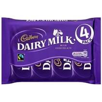 Cadbury - Dairy Milk 4-Pack 117,2 Gram