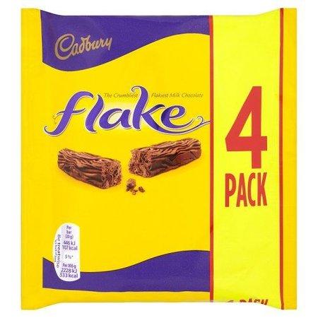 Cadbury Cadbury - Flake 4-Pack 80 Gram