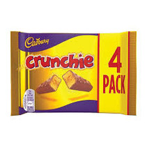Cadbury Crunchie 4-Pack