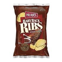 Herr's - Baby Back Ribs Potato Chips 198,5 Gram