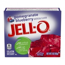 Jell-O - Pomegranate Blueberry Gelatin 85 Gram