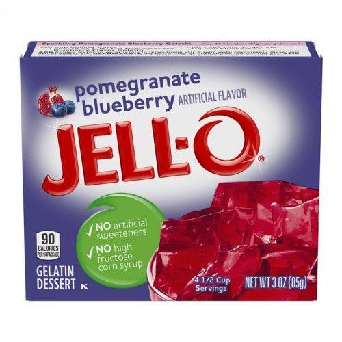 Jell-O Jell-O - Pomegranate Blueberry Gelatin 85 Gram