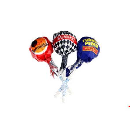 Fazer Fazer - Salmiakki Mix lollipop 9 Gram 5 Stuks