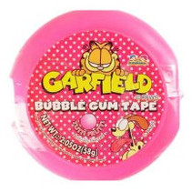 Garfield Bubble Tape 58 Gram