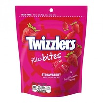 Twizzlers - Strawberry Filled Bites Pouch 226 Gram