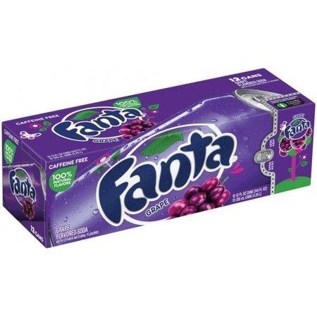 Fanta Fanta - Grape 355ml 12 Blikjes