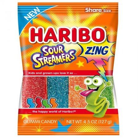 Haribo Haribo - Sour Streamers Peg Bag 127 Gram