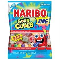 Haribo - Sour Cubes Peg Bag 127 Gram