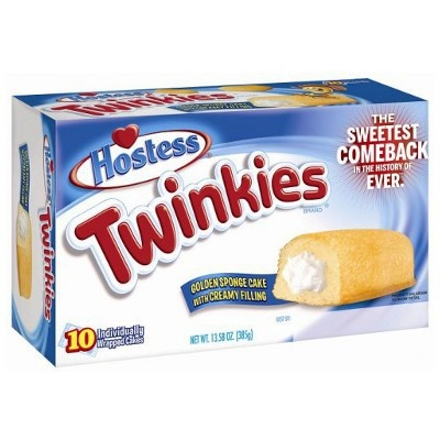 Hostess Hostess Twinkies Orginal 10 Twinkies 385 Gram