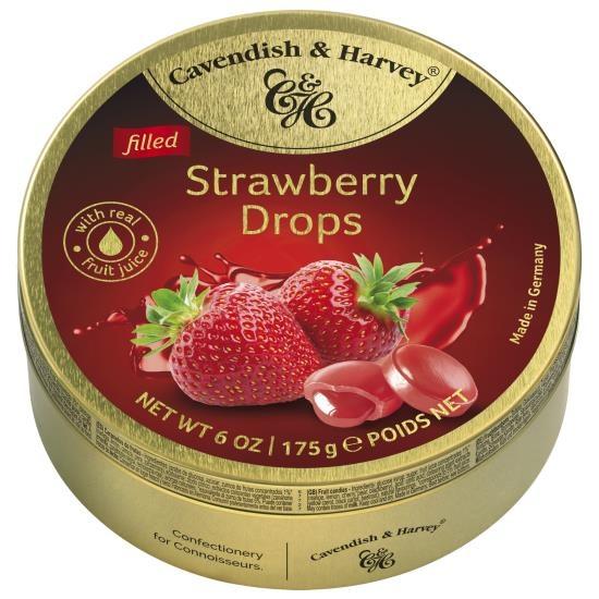 Cavendish & Harvey Cavendish & Harvey - Strawberry Drops 175 Gram