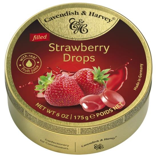 Image of Cavendish & Harvey Cavendish & Harvey - Strawberry Drops 175 Gram 89414984