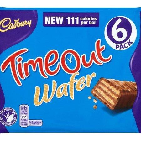 Cadbury Cadbury - Timeout 6-pack 127,2 Gram