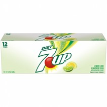 7UP - Lime Diet 355ml 12 Blikjes