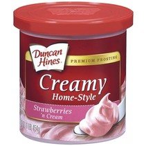 Duncan Hines - Strawberry and Cream Frosting 454 Gram