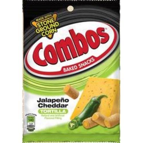 Combos Combos - Jalapeno Cheddar Tortilla Crackers 178 Gram