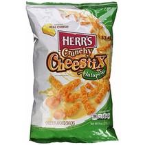 Herr's - Crunchy Cheestix Jalapeno 255 Gram