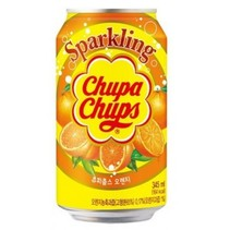 Chupa Chups - Sparkling Orange Drink 345ml (import uit Korea)