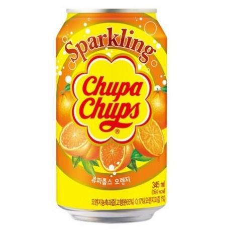 Chupa Chups Chupa Chups - Sparkling Orange Drink 345ml (import uit Korea)