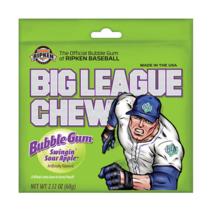 Big League Gum - Sour Apple 60 Gram