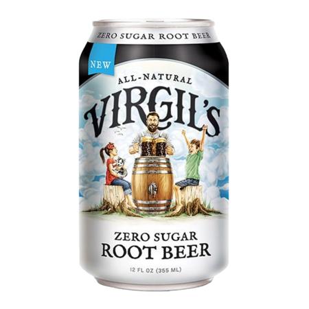 Virgils Virgil's - Zero Sugar Root Beer Can 355ml