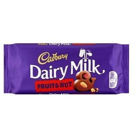 Cadbury Cadbury - Dairy Milk Fruit & Nut 110 Gram
