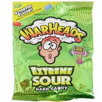 Warheads - Extreme Sour Hard Candy 28 Gram