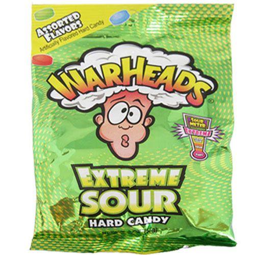 Warheads Warheads - Extreme Sour Hard Candy 28 Gram