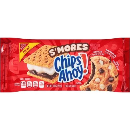 Chips Ahoy Chips Ahoy! - Smores Filled Soft Cookies 272 Garm