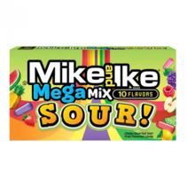 Mike & Ike - Sour Mega Mix Theatre Box 141 Gram