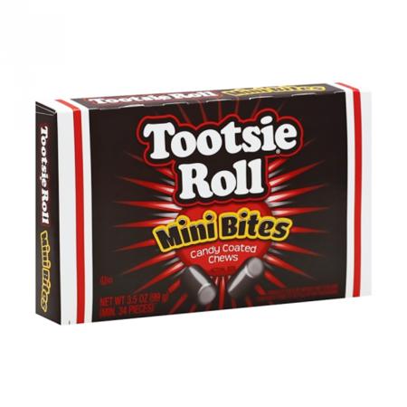 Tootsie Tootsie - Roll Mini Bites Video Box 99 Gram