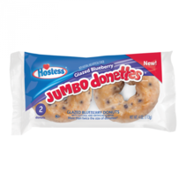 Hostess - Glazed Blueberry Jumbo Donettes 2-Pack 113 Gram