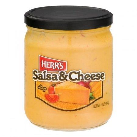 Herrs Herr's - Salsa and Cheese Dip 454 Gram