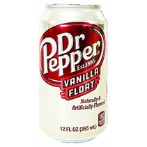 Dr Pepper Vanilla Float 355ml *BESTSELLER*