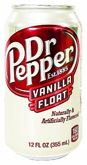 Dr Pepper Dr Pepper Vanilla Float 355ml *BESTSELLER*