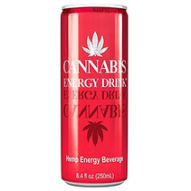 Cannabis Energy Drink Raspberry 250ml 24 Blikjes