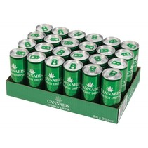 Cannabis Energy Drink Regular 250ml 24 Blikjes