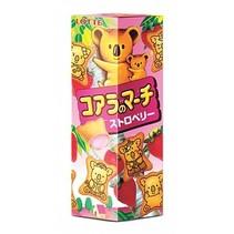 Lotte - Koala's March Strawberry Cookies 48 Gram