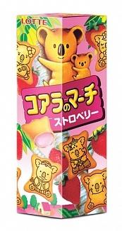 Lotte Lotte - Koala's March Strawberry Cookies 48 Gram