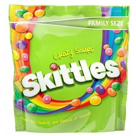Skittles Skittles - Sours  Pouch 196 Gram
