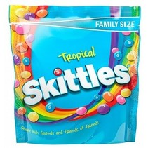 Skittles - Tropical Pouch 196 Gram