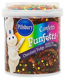 Pillsbury Pillsbury - Funfetti Chocolate Fudge Frosting 443 Gram