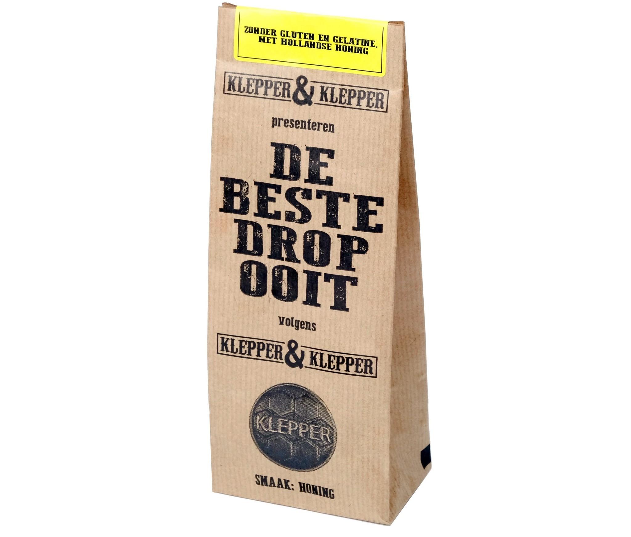 Klepper & Klepper Klepper & Klepper - De Beste Drop Ooit Honing 200 Gram