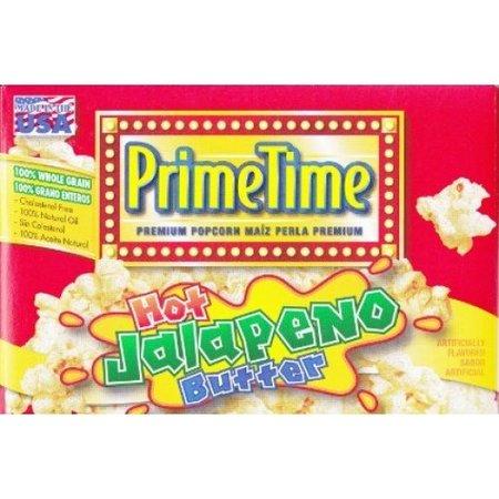 Prime Time Prime Time - Jalapeno Popcorn 3-Pack (3x68 gram)