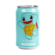 Ocean Bomb Pokemon Squirtle Pear Sparkling Water 355ml