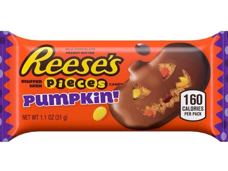 Reese's Reese's - Peanut Butter Pumpkins With Reese's Pieces 31 Gram
