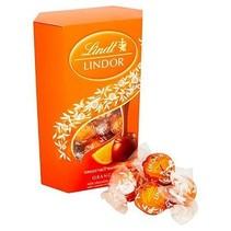 Lindt - Lindor Milk Chocolate Orange Truffles 200 Gram