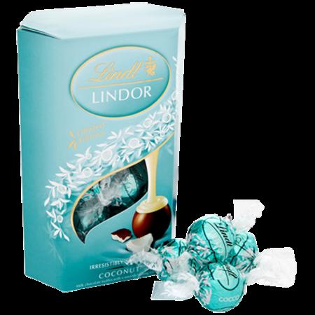 Lindt Lindt - Lindor Coconut Truffles 200 Gram