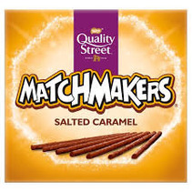 Nestle - Quality Street Matchmakers Salted Caramel 120 Gram