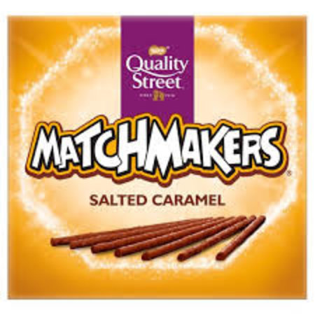 Quality Street Nestle - Quality Street Matchmakers Salted Caramel 120 Gram
